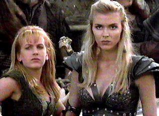 Callisto and Gabrielle (actualy,Xena in Callisto's body,but you get it!)